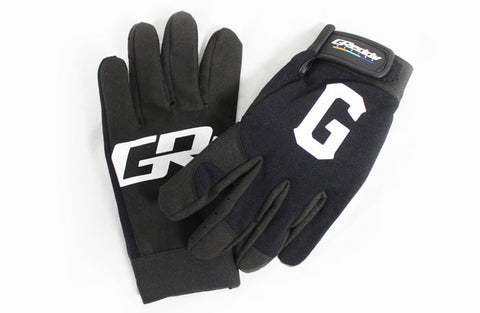 GReddy G  Mechanic's Gloves - Black