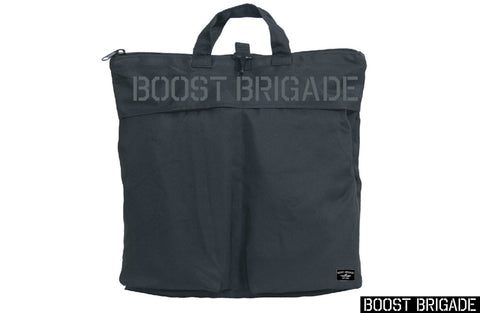 Boost Brigade Stencil Padded Zip Bag - Black