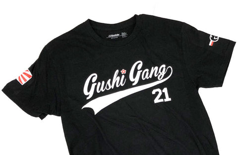 """GUSHI GANG"" 2.0 KG21 Black Tee - Limited Edition"
