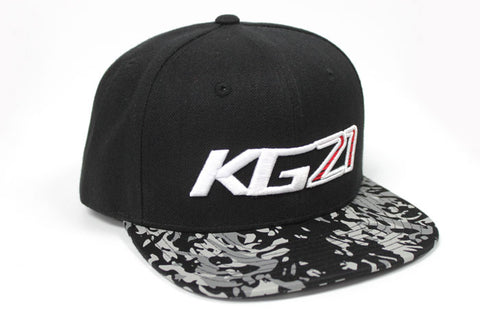 "Team GReddy Racing ""KG21"" Snap-Back Cap - Camo/Black"