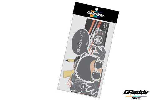 2019 KG21 Decal Pack - Team GReddy Racing - NEW!
