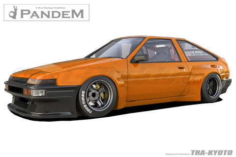 Pandem Aero - Toyota (AE86) Corolla Trueno Hatchback - Full Kit in-Stock!