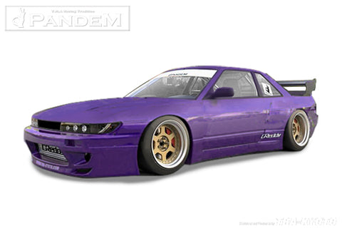 Pandem V3 S13 Silvia Aero - Nissan Silvia Coupe (S13) - Full Kit in Stock - NEW!