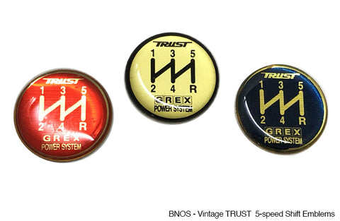 Vintage TRUST GREX Shift Emblem - ShopGReddy Exclusive