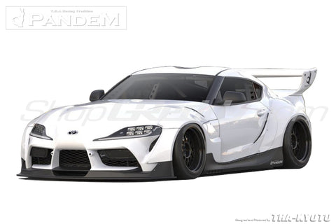 Pandem Aero - Toyota Supra (A90) V1.0 w/ Wing - ShopGReddy Exclusive 1 Kit In-Stock!