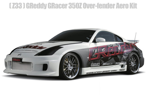 JDM GReddy GRacer Full Over-Fender Aero Kit - Nissan 350Z (Z33) - Available again!