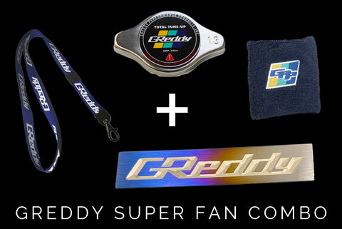 Black Friday SALE:   GReddy Super Fan Combo  - Limited Supply!