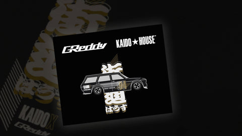 Kaido X GReddy Pin  - GPP Live Capsule - Now in-stock!