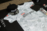 Team GReddy Racing 2019 Grey Camo Dry Fit Tee with Sponsor Logos - NEW!