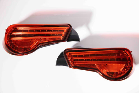 Lexon Smoke Red LED Tail lights -  Scion FRS / Subaru BRZ
