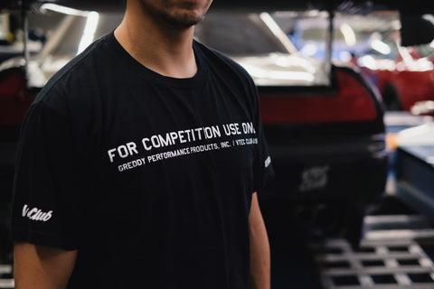 "Exclusive Vtec Club USA X GReddy ""Competition Only"" Tee  - Limited Edition"