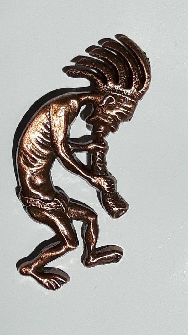 Kokopelli Pin