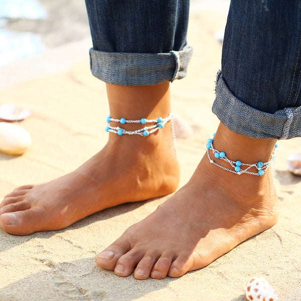 Bohemian Anklets -  5 Styles