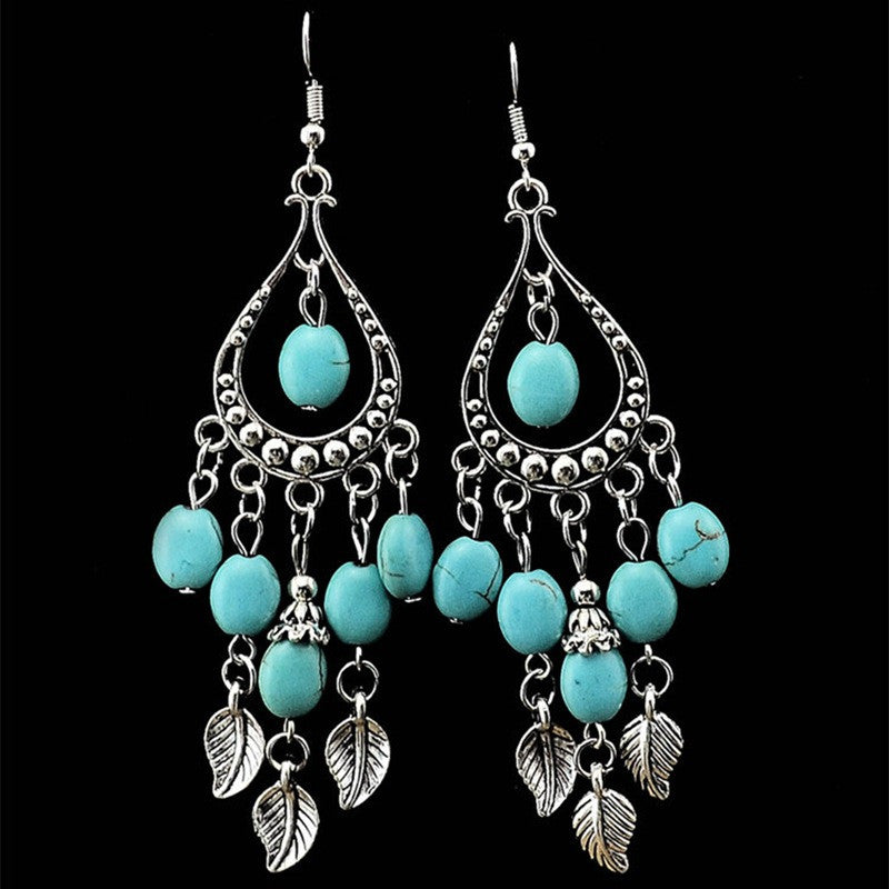 Bohemian Long dangle Earrings