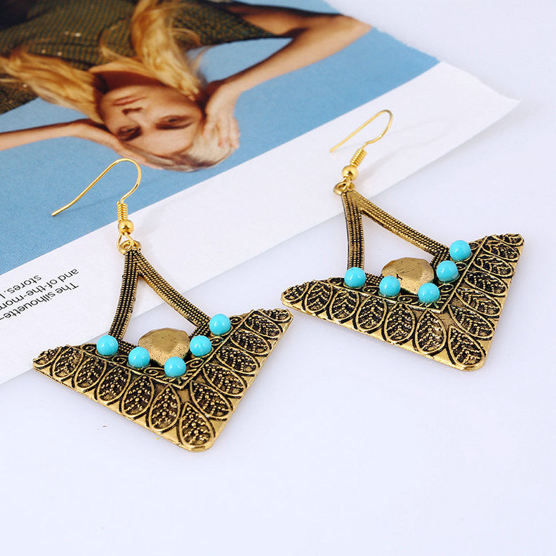 Vintage Bohemian Drop Earrings
