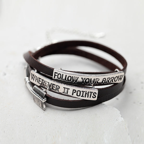 Follow Your Arrow Bracelet