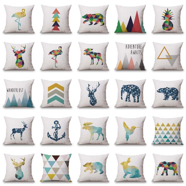 Travel Inspired Cushion Covers