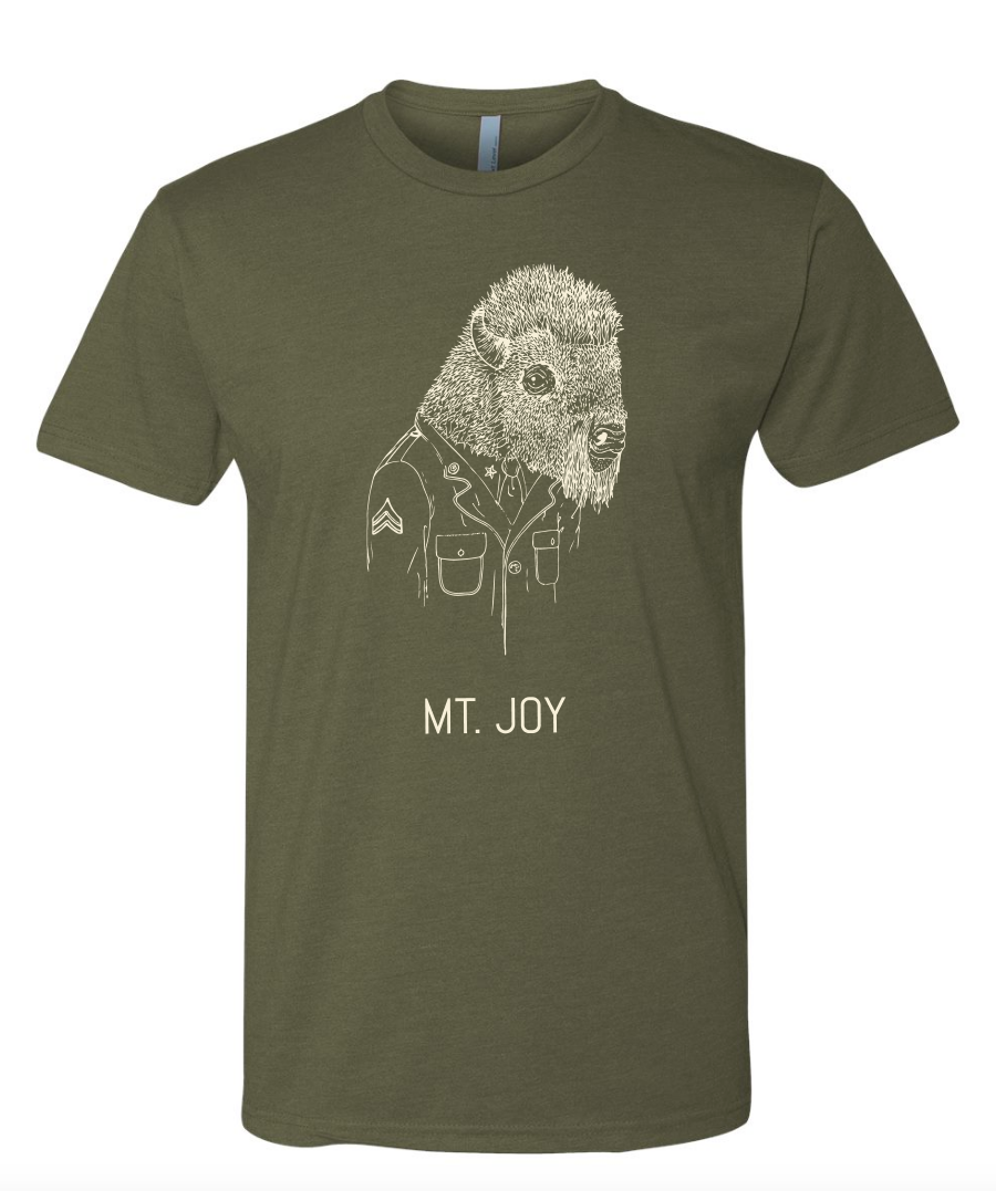 Army Green Bison Shirt