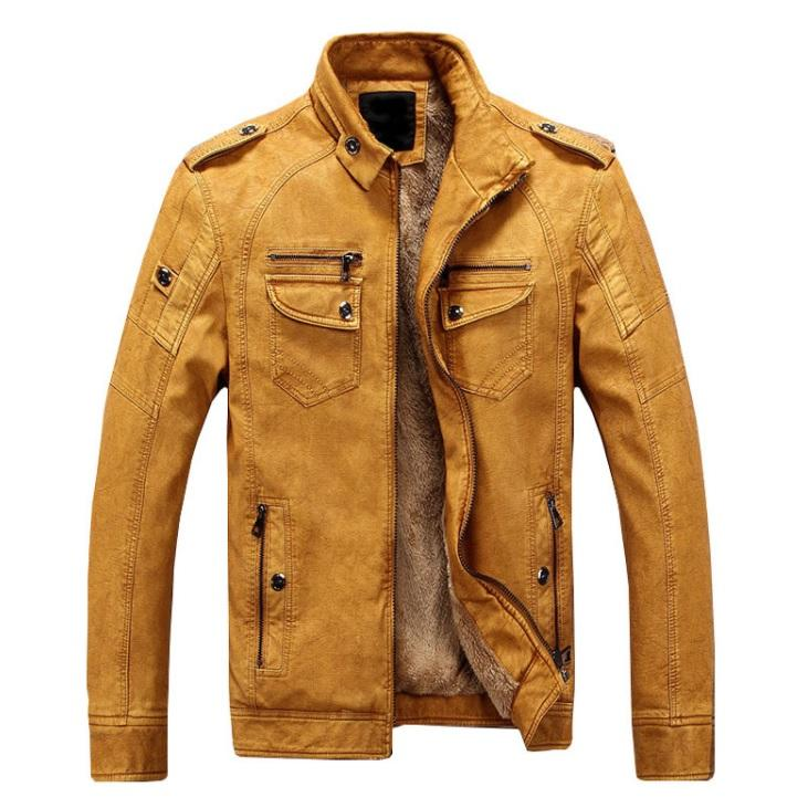 Luxe Winter Leather Jacket