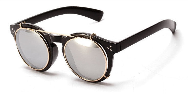 Retro Round Sunglasses  (5 Colors) - TakeClothe - 3