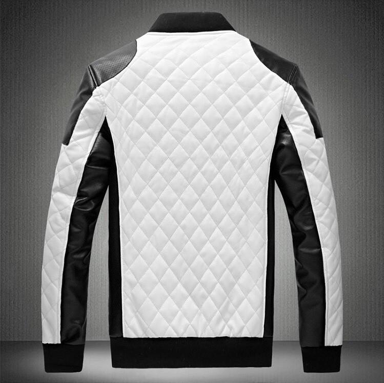 Monochrome Bomber Jacket