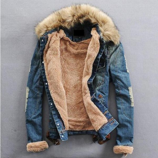 Winter Denim Jacket (2 colors)