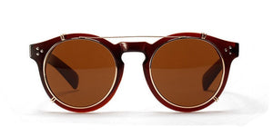 Retro Round Sunglasses  (5 Colors) - TakeClothe - 6