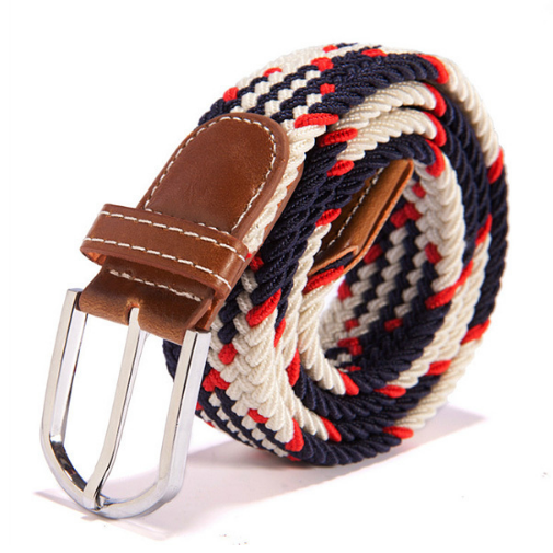 Contrast Woven Cord Belt - TakeClothe