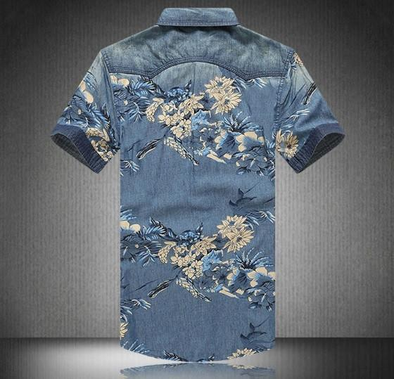 Agora Floral Denim Shirt
