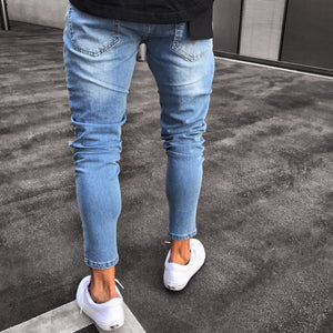 Destroyed Denim Jeans