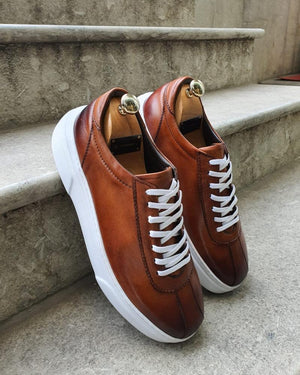 Bellingham Brown Laced Sneakers
