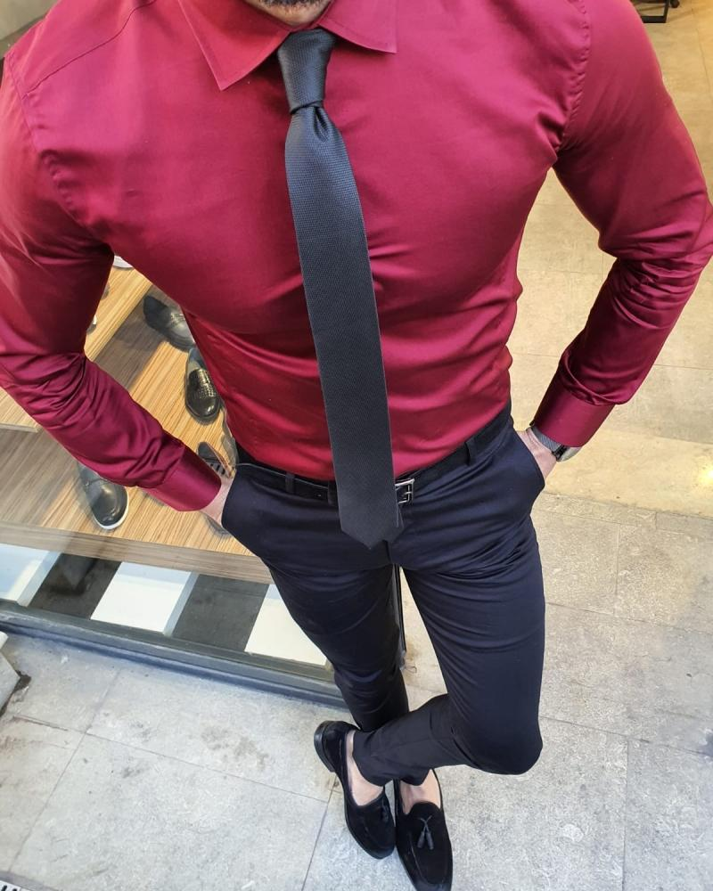 Arden  Slim Fit Cotton Shirt in 4 Colors