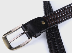 Leather Plaited Belt (3 Colors) - TakeClothe - 6
