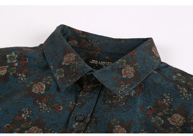 Vintage Floral Shirt (4 Colors)
