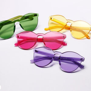 Clear Plastic Sunglasses (5 Colors) - TakeClothe - 1