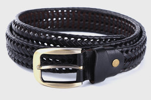 Leather Plaited Belt (3 Colors) - TakeClothe - 2