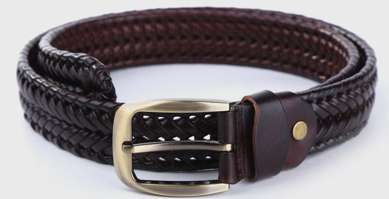 Leather Plaited Belt (3 Colors) - TakeClothe - 3