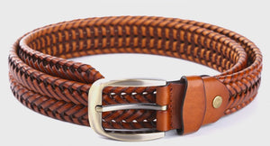 Leather Plaited Belt (3 Colors) - TakeClothe - 4
