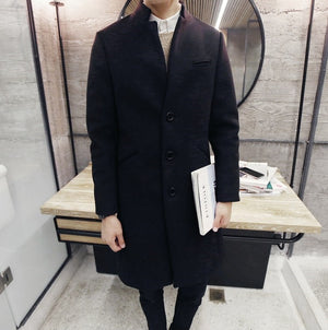 Wool Coat (5 Colors)
