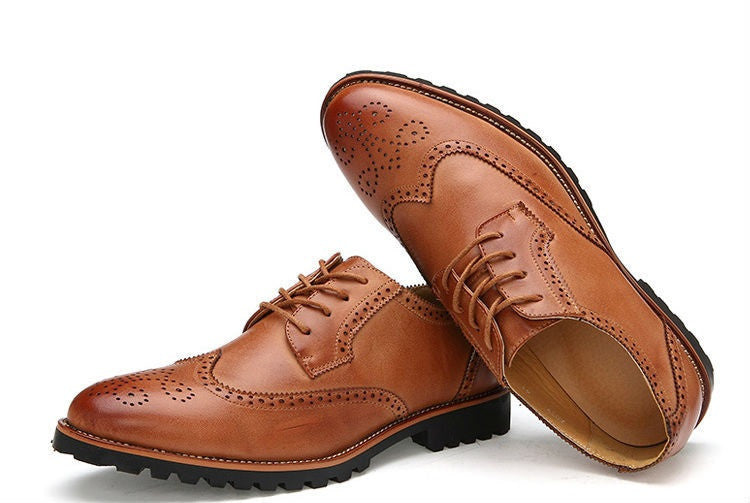 Brogue Shoes (2 Colors) - TakeClothe - 4