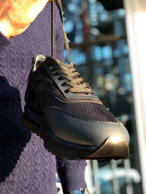 Sardinelli Laced Sports Shoes Navy