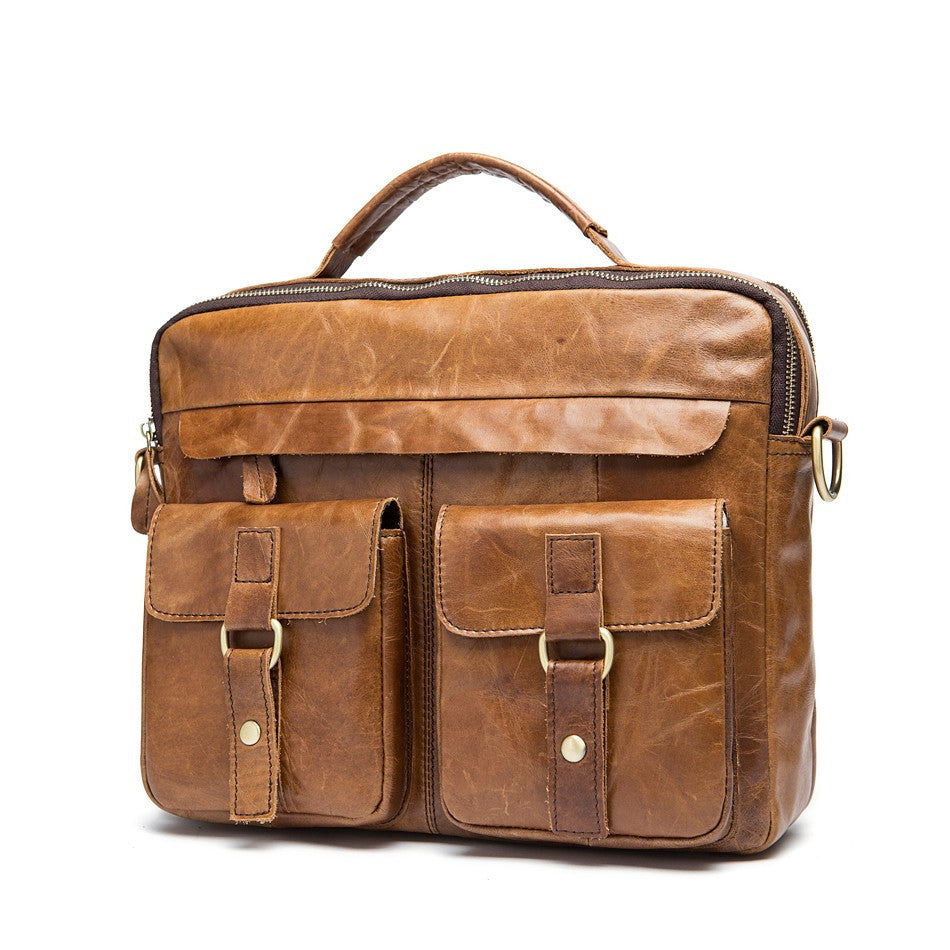 Exclusive Vintage Leather Briefcase (4 Colors) - TakeClothe - 10