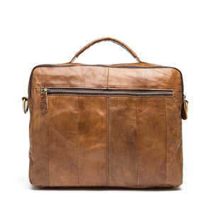 Exclusive Vintage Leather Briefcase (4 Colors) - TakeClothe - 11