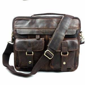 Exclusive Vintage Leather Briefcase (4 Colors) - TakeClothe - 12