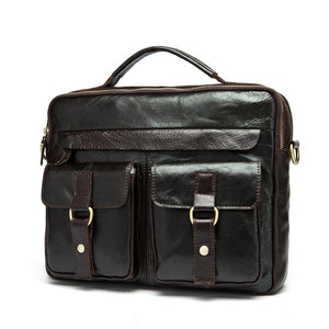 Exclusive Vintage Leather Briefcase (4 Colors) - TakeClothe - 2