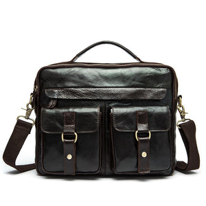 Exclusive Vintage Leather Briefcase (4 Colors) - TakeClothe - 3