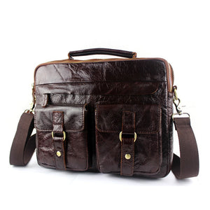Exclusive Vintage Leather Briefcase (4 Colors) - TakeClothe - 6