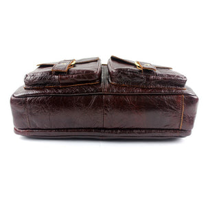 Exclusive Vintage Leather Briefcase (4 Colors) - TakeClothe - 8