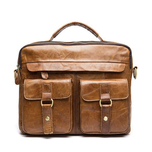 Exclusive Vintage Leather Briefcase (4 Colors) - TakeClothe - 9