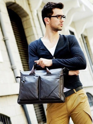 Fashion Leather Briefcase (2 Colors) - TakeClothe - 2